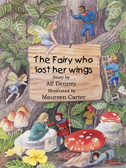 'The Fairy Who Lost Her Wings' book cover